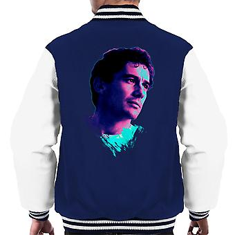 Motorsport Images Ayrton Senna Portrait Men's Varsity Jacket