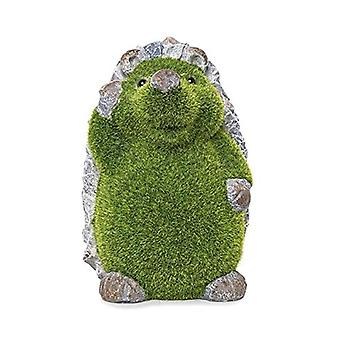 Kent Collection Hector The Hedgehog Flocked Garden Ornament