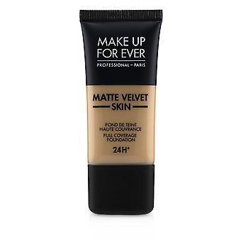 Matt Velvet Skin Full Dekning Foundation - # R370 (Medium Beige) 30ml / 1oz