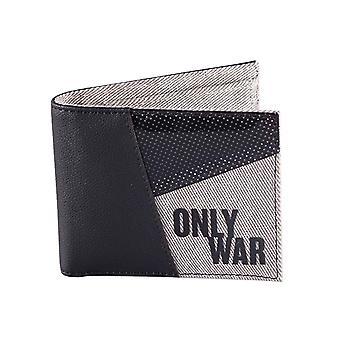 Warhammer 40k lommebok bare krig Catchphrase Logo ny offisiell svart bifold
