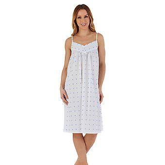 Slenderella ND55230 Women's Spotty Cotton Chemise