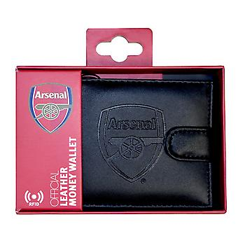 Arsenal FC RFID Embossed Leather Wallet