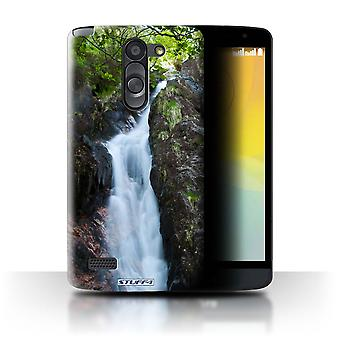 STUFF4 Case/Cover for LG L Bello/D331/Stream/Scottish Landscape