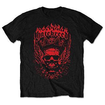Hatebreed Brown Officiel Tee-Shirt Mens Unisex