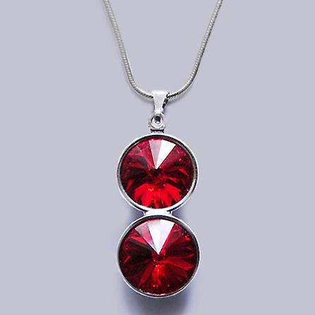 Pendant necklace with Swarovski crystals PMB 3.5