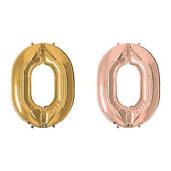 Balões metálicos números 34 polegadas de 260Qs