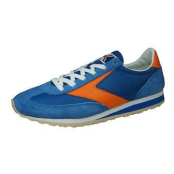 Brooks Vanguard Mens Vintage Trainers / Sneakers - Blue