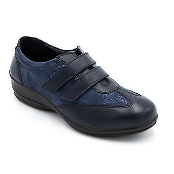 Padders سادي السيدات جلد واسع (e/2e) أحذية البحرية كومبي