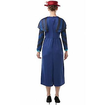 Mary Poppins retourne Womens / Ladies Mary Poppins Costume