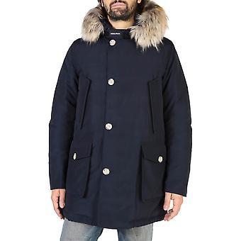 Woolrich Original Men Fall/Winter Jacket - Blue Color 38128