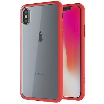 Shockproof clear slim bumper iphone xs case