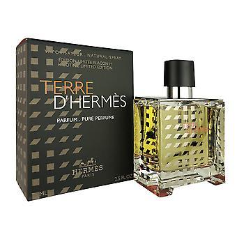 Terre d'hermes för män 2,5 oz parfum spray