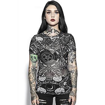 Blackcraft Cult Barokki Mesh T-paita