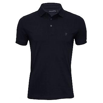 French Connection Classic Jersey Polo Shirt, Navy