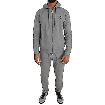 Gray cotton sweater pants tracksuit a4