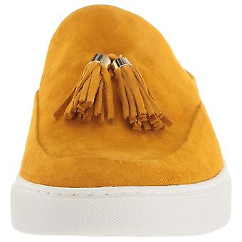 Gentle Souls Womens Rory Espadrille Suede Almond Toe Mules