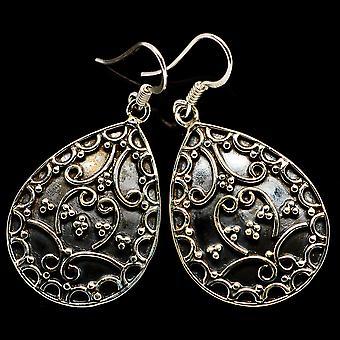 Floral Pattern Earringss 1 3/4