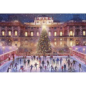 Skating at Somerset House 500pc Jigsaw by Gibsons