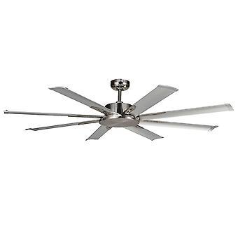 """DC ceiling fan Albatross Mini Nickel 165cm / 65"""""""