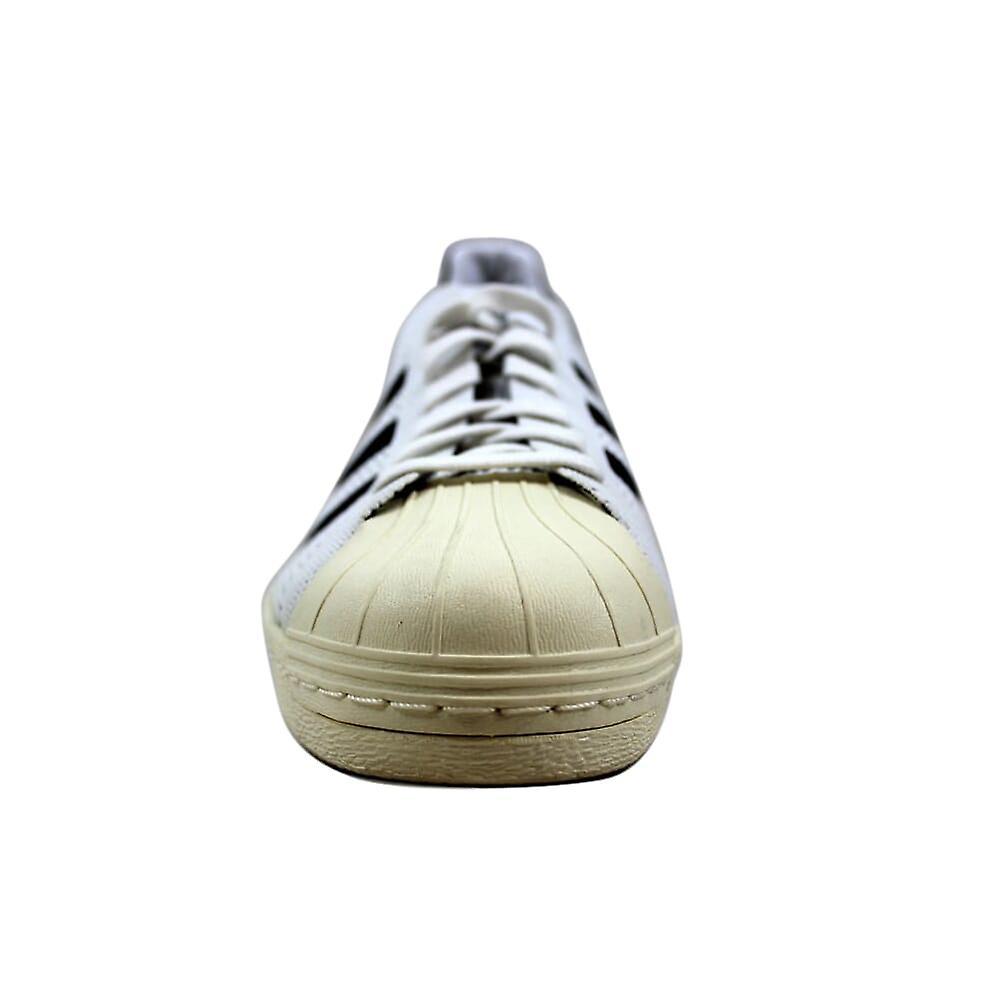 Adidas Superstar 80s Primeknit Hvit/svart-gull Metallisk S82779 Menn's