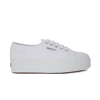 Superga White UP And Down 2790ACOTW901 universal all year women shoes