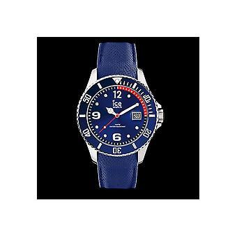 ICE WATCH - wrist watch - 015770 - ICE stål - blå - medium - 3 H