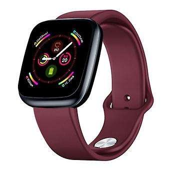 Zeblaze Crystal 3 Smartwatch Smartband Smartphone Fitness Sport Activity Tracker Watch IPS iOS Android iPhone Samsung Huawei Red
