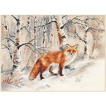 Alisa Cross Stitch Kit - Fox
