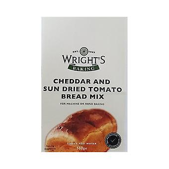 Wrights Baking Wrights Cheddar & Sun Dried Tomato Bread Mix 500g X 5 Packs