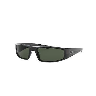 راي بان RB4335 601/71 نظارات شمسية سوداء / خضراء