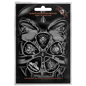 Motorhead Guitar Pick Plectrum Pack X 5 Bad Magic new Official Black
