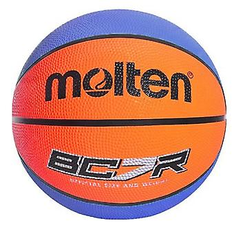 Molten BCR Indoor Outdoor Rubber Basketball Ball Bleu/Orange