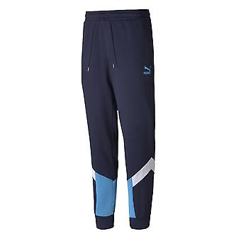 2019-2020 Man City Iconic MCS Track Pants (Peacot)