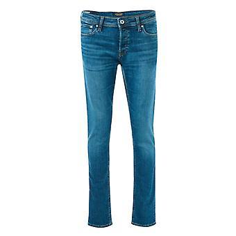 Men's Jack Jones Glenn Original 814 Jeans in Blue