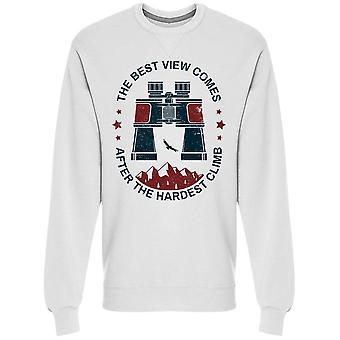 Kikare och slogan sweatshirt Men's -Bild av Shutterstock