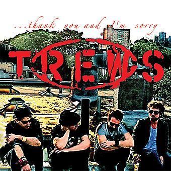 Trews - Thank You & I'm Sorry [CD] USA import