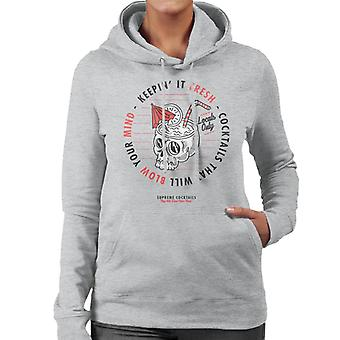 Divide & Conquer Supreme Cocktails Women's Hooded Sweatshirt