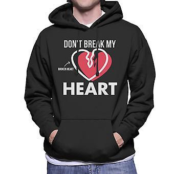 Operation Dont Break My Broken Heart Men's Hooded Sweatshirt