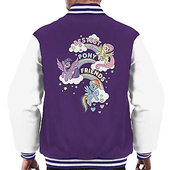 My Little Pony Bestest Pony Friends Men's Varsity Jacket