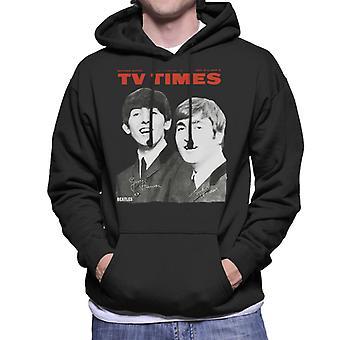 TV Zeiten Beatles 1963 decken Herren Sweatshirt mit Kapuze