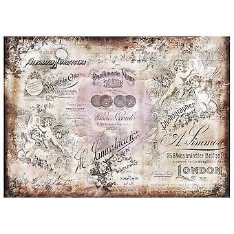 Finnabair Decoratief Papier Romatica