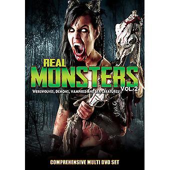 Real Monsters 2: Werewolves Demons Vampires & Sea [DVD] USA import