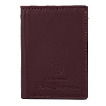 Accessories Ben Sherman Dack Leather RFID Card Holder Wallet in Brown