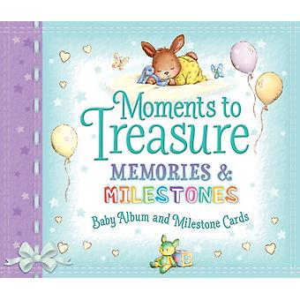 Moments to Treasure Baby Album and Milestone Cards by Giles & Sophie