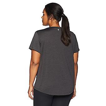 Merk - Core 10 Women's Plus Size Essential Fitted Cap Sleeve Performa...