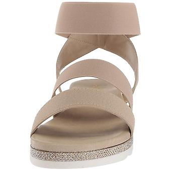 André Assous Womens Verna Open Toe Casual Ankle Strap Sandals