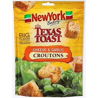 New York Texas toast kaas en knoflook croutons