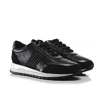 Geox Leather Tabelya Trainers