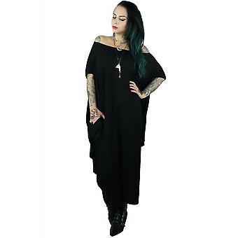 Foxblood Raven Maxi Dress