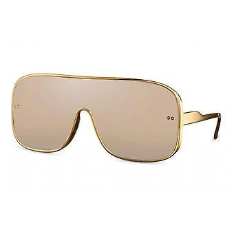 Sunglasses unisex nschild fully framed cat. 3 gold/gold